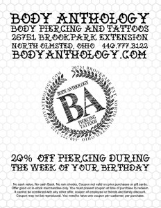 20% Off Birthday